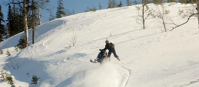 Side Hilling In Gaspesie Quebec